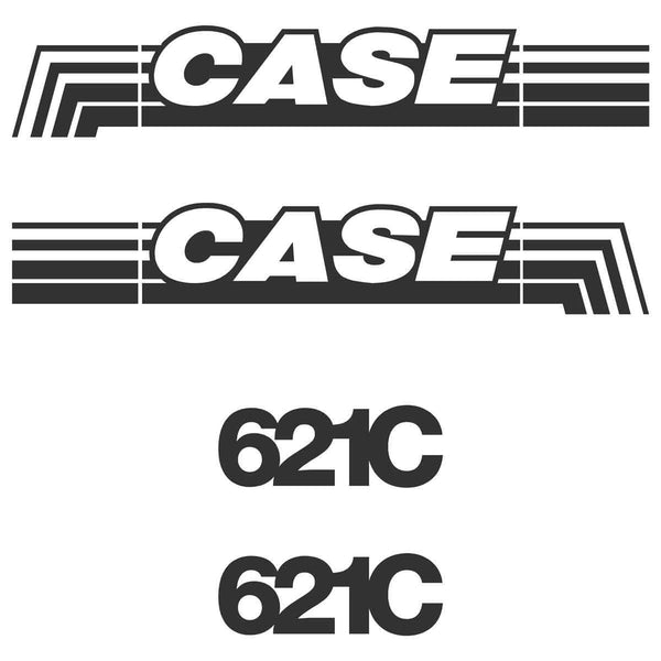Case 621C Decals