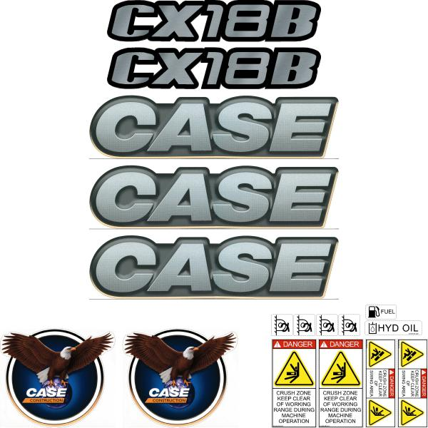 Case CX18B Decals