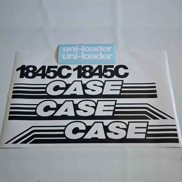 Case 1845C Decal Sticker Set