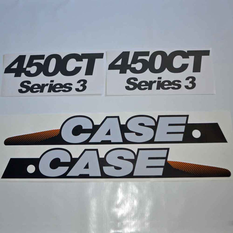 Case 450CT Decal Sticker Set