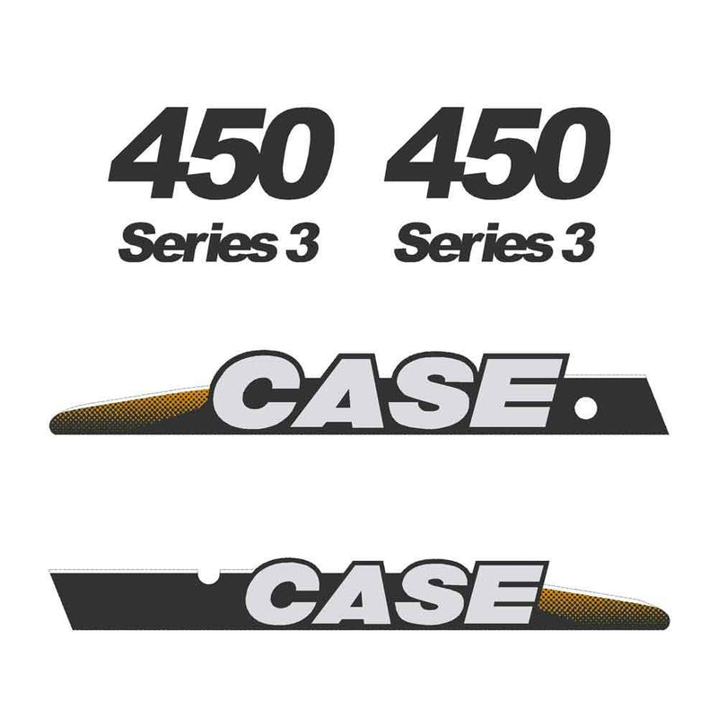 Case 450 Decal Sticker Set