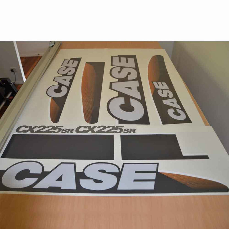 Case CX225SR Decal Sticker Set