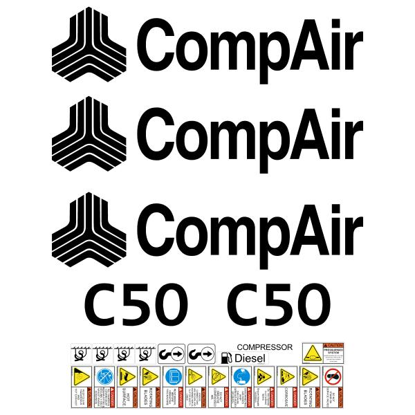 Compair C50 Decals