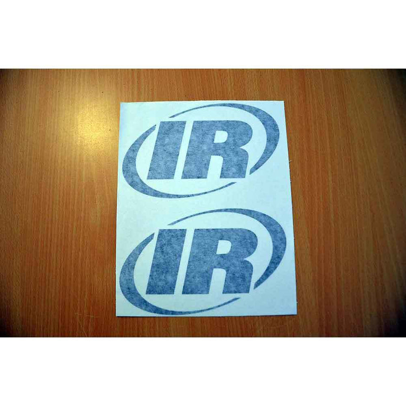Two Ingersoll Rand IR Decals Stickers