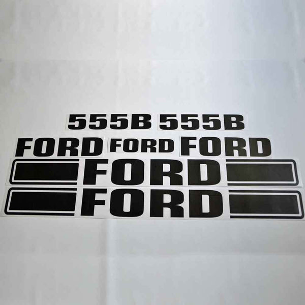 Ford 555B Decal Sticker Kit