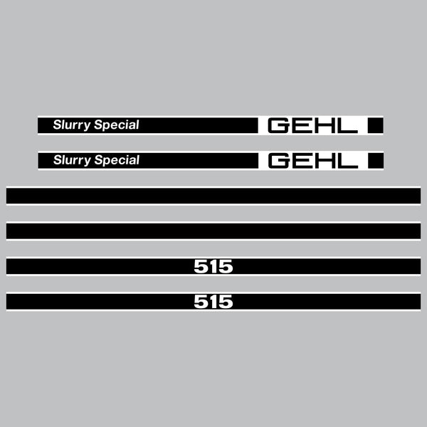 Gehl 515 Slurry Special Decals