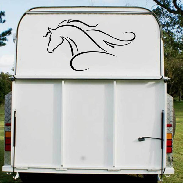 Horses logo Float Decal