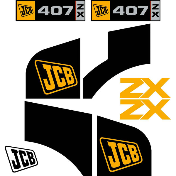 JCB 407 Decals