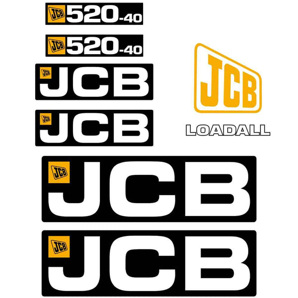 JCB 520-40 Decals