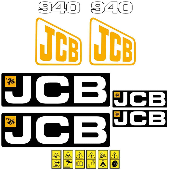 JCB 940 Decals