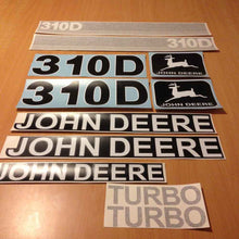 Load image into Gallery viewer, John Deere 310D Decal Sticker Set