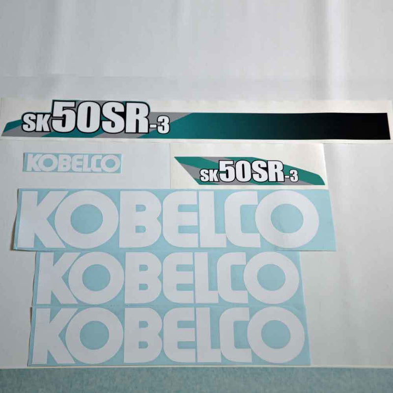 Kobelco SK50SR-3 Decal Sticker Set