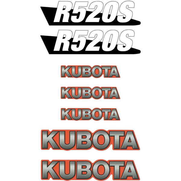 Kubota R520S Decals