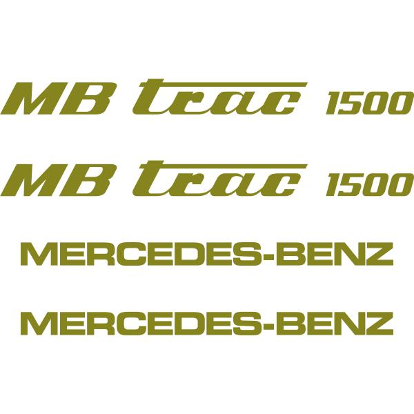 MB Trac 1500 Decals