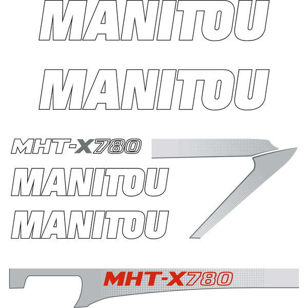Manitou MHTX-780 Decals