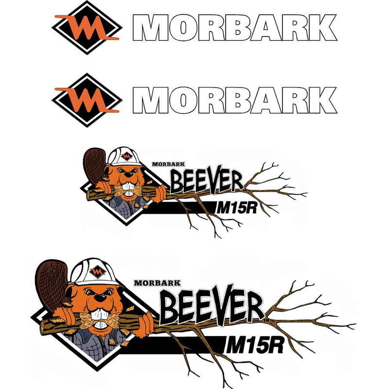 Morbark Beever M15R Decals