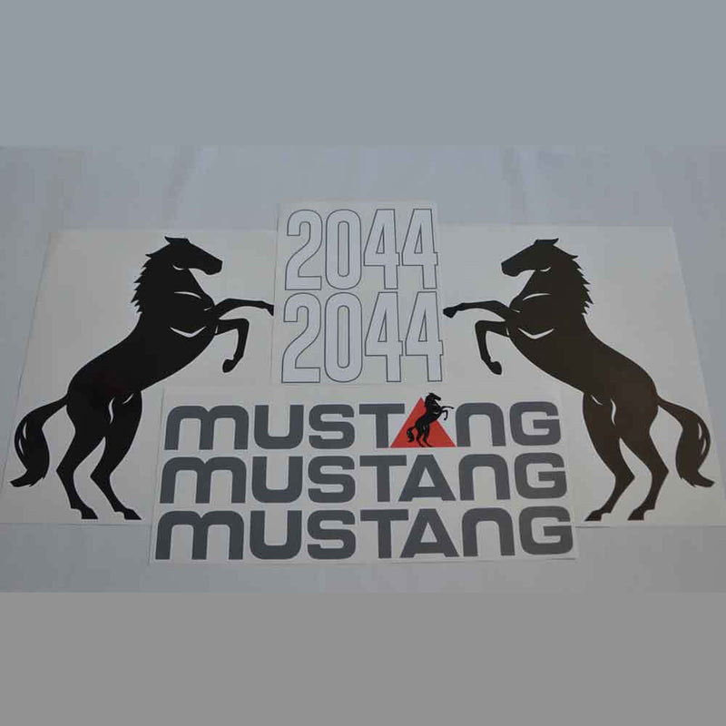 Mustang 2044 Decals Stickers Set