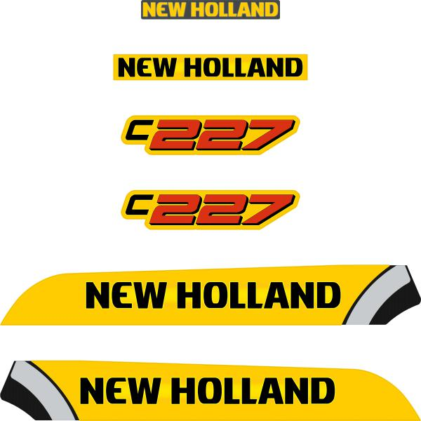 New Holland C227 Decals