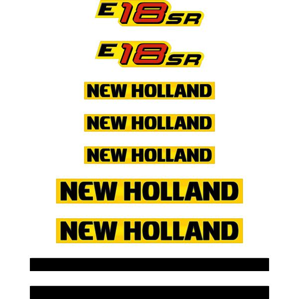New Holland E18SR Decals