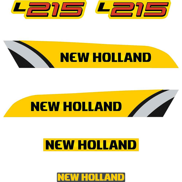 New Holland L215 Decals