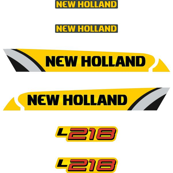 New Holland L218 Decals