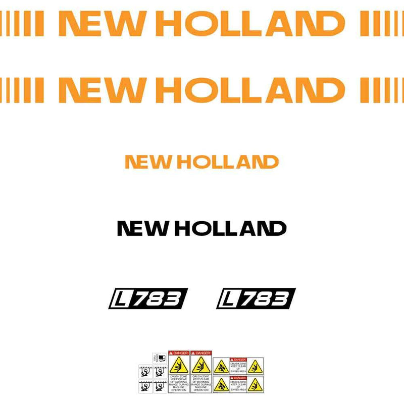 New Holland L783 Decals Stickers