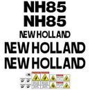 New Holland NH85 Decals Stickers