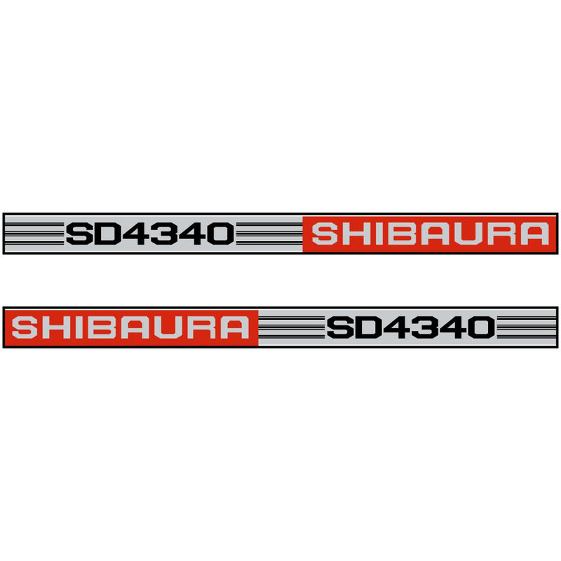 Shibaura SD4340 Decals