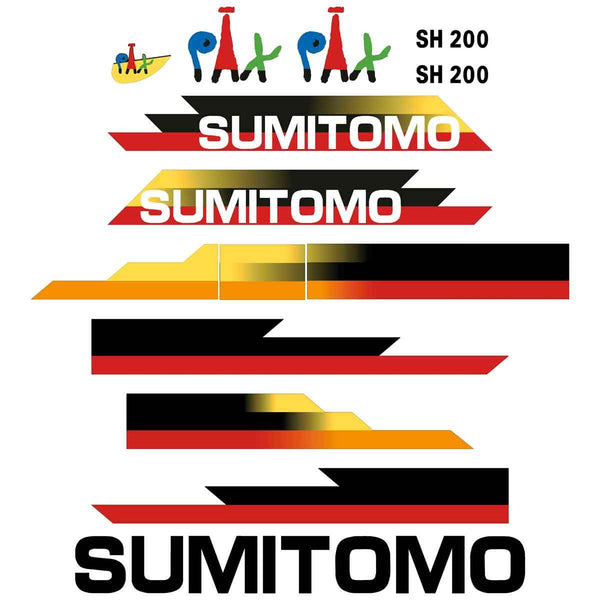 Sumitomo SH200-3 Decal Sticker Set
