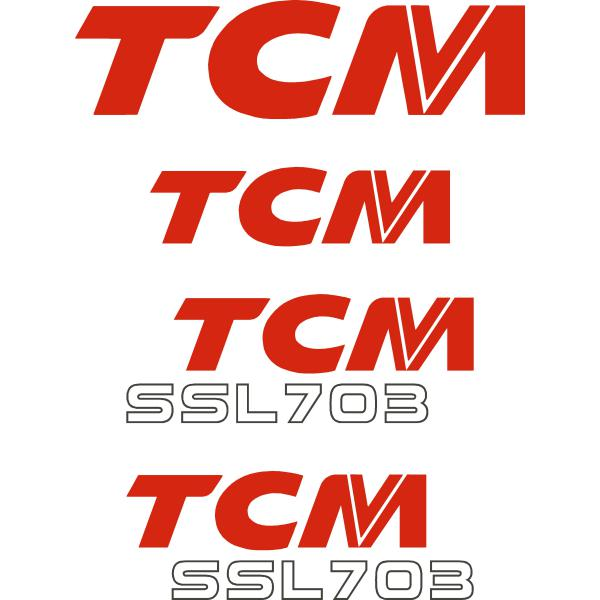 TCM SSL703 Decals