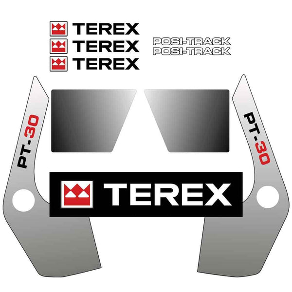 Terex PT30 Decals Stickers Kit (LATER 2011 ON)