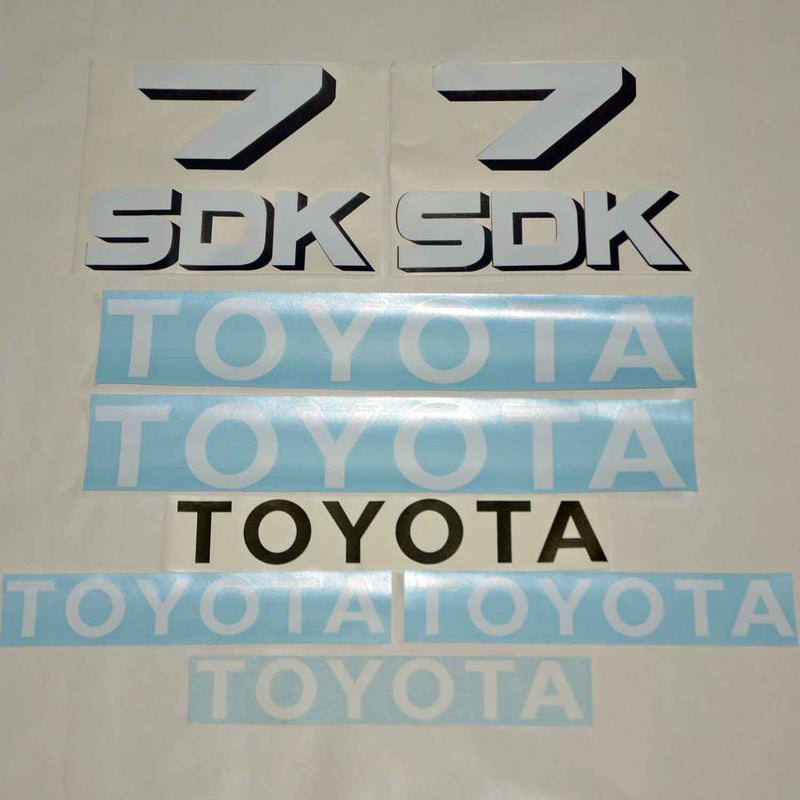 Toyota Huski 3SDK7 Decal Sticker Set