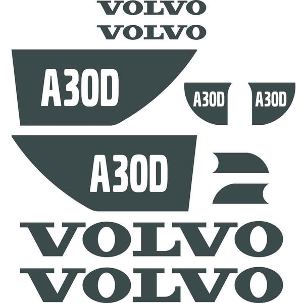 Volvo A30D Decals