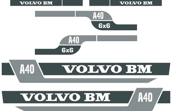 Volvo BM A40 Decals