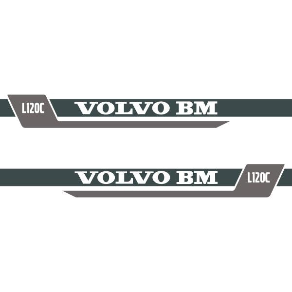 Volvo L120C Decals