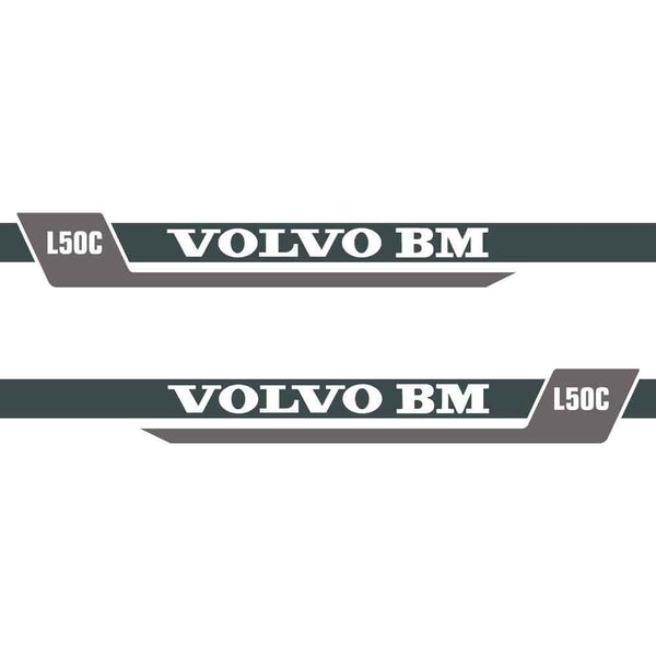 Volvo L50C Decals