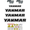 Yanmar SV08-1 Decals Stickers