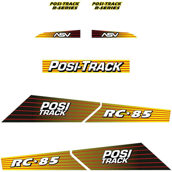 ASV RC85 Decals