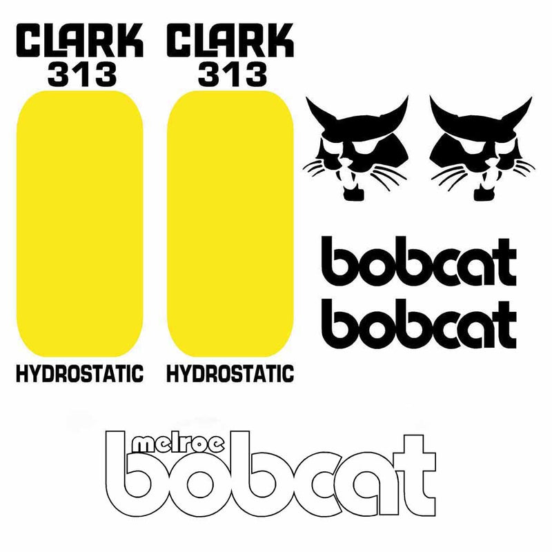Bobcat 313 Decal Set