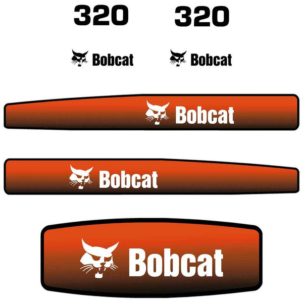 320 Decals Stickers