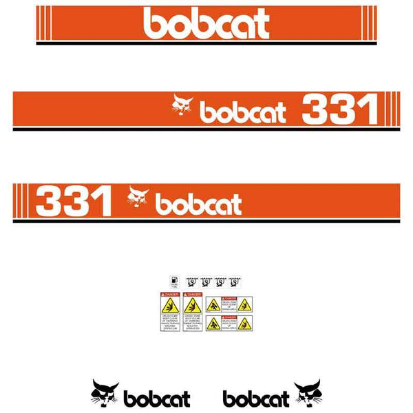 Bobcat 331 X Decals Stickers