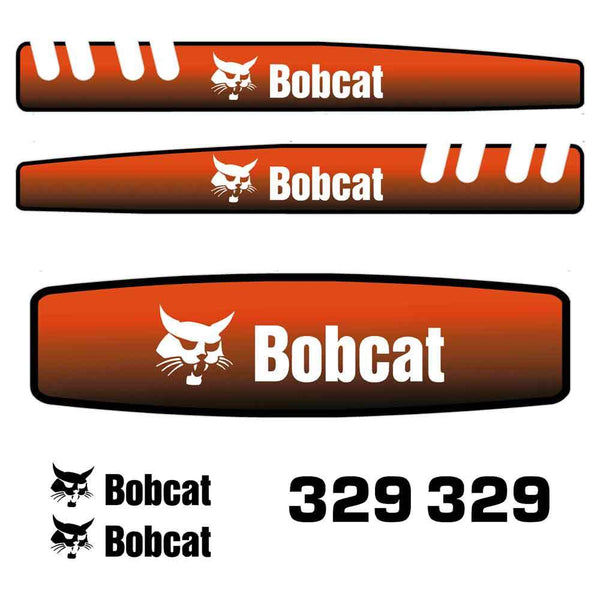 Bobcat 329 Decal Sticker Set