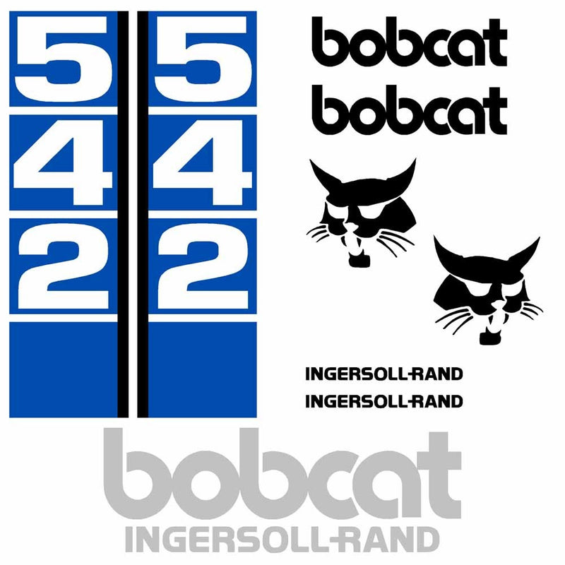 Bobcat 542 Decal Set