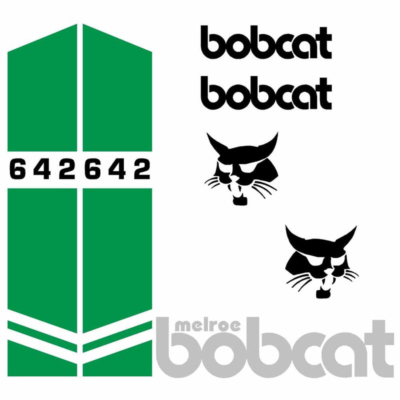Bobcat 642 Decal Set
