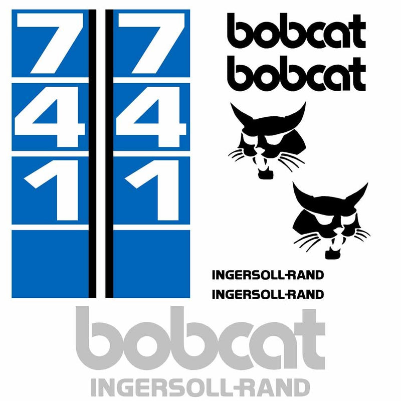 Bobcat 741 Decal Set IR