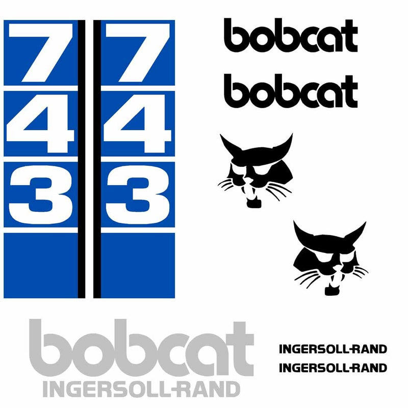 Bobcat IR 743 Decal Set