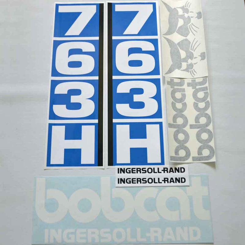 Bobcat 763H Decal Set (1)