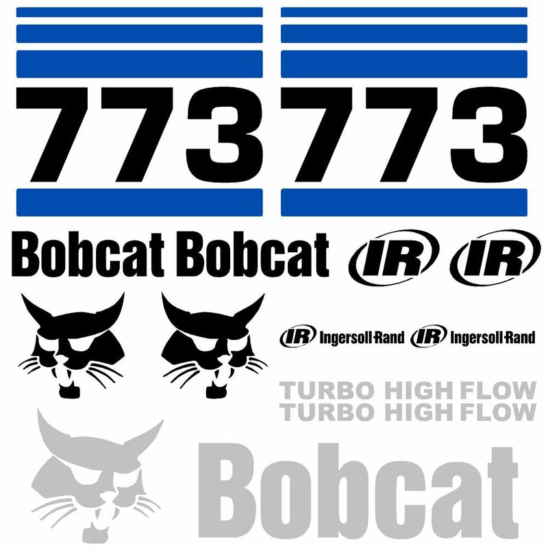 773 Decals Stickers - Kit 3