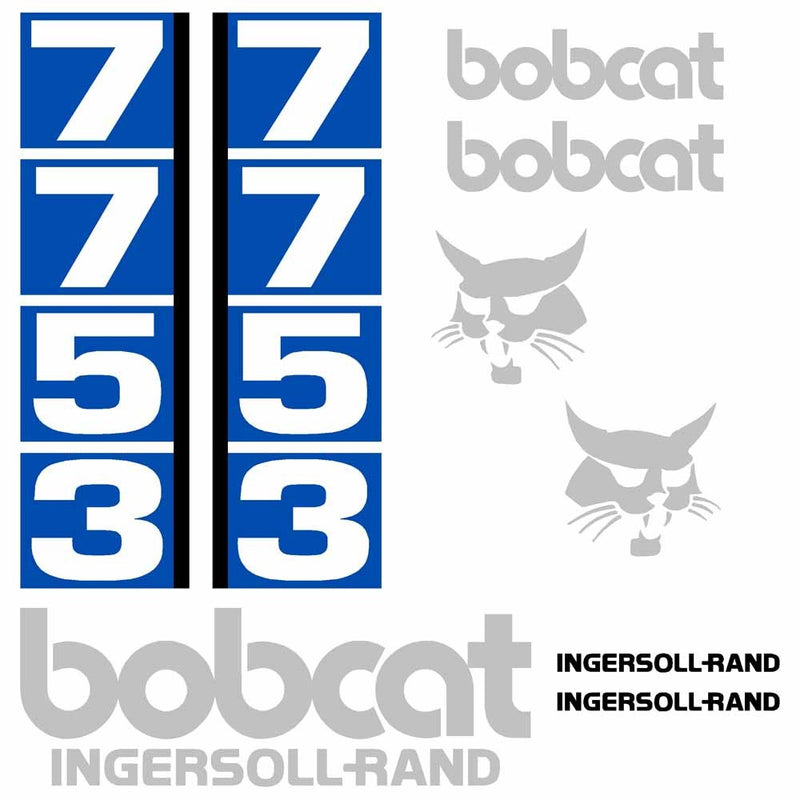 Bobcat 7753 Decal Set