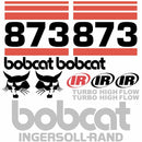 Bobcat 873 Decal Set (4)